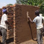 The Water Project: Ematetie Primary School -  Latrine Construction