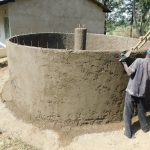The Water Project: Eshisiru Secondary School -  Tank Construction