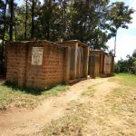The Water Project: Eshiamboko Primary School -  Latrines