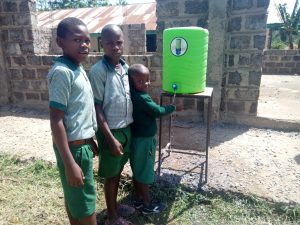 The Water Project:  Hand Washing Station