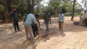 The Water Project:  Iron Mesh For Tank Wall