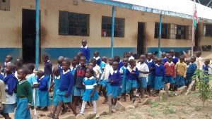 The Water Project:  Students In Front Of Their Classrooms