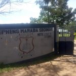 The Water Project: St. Stephen Maraba Secondary School -  School Gate