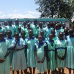 The Water Project: Musabale Primary School -  Students At School Gate