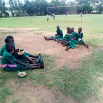 The Water Project: Bushili Primary School -  Students Eating Lunch