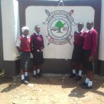 The Water Project: Imusutsu High School -  School Gate