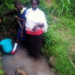 The Water Project: Mwituwa Community A -  Fetching Water