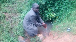 The Water Project:  Mr Pendi At The Spring