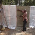 The Water Project: Ematetie Primary School -  Tank Construction