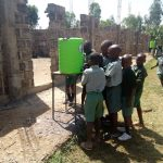 The Water Project: Madivini Primary School -  Hand Washing Station