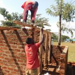 The Water Project: Womulalu Primary School -  Latrine Construction