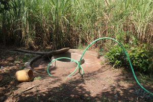 The Water Project:  Test Pumping The Well We Will Rehabilitate