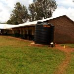 The Water Project: Injira Secondary School -  Plastic Water Tank