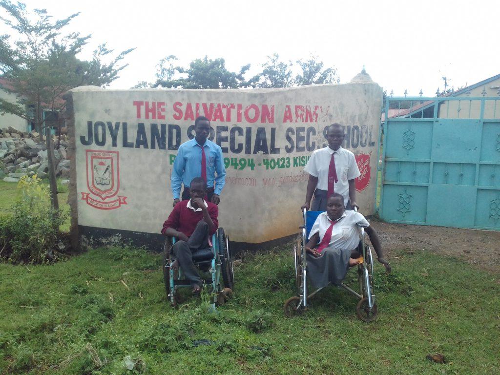 The Water Project : 3-kenya18042-school-gate