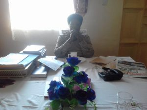 The Water Project:  Headteacher Jane Kavuludi