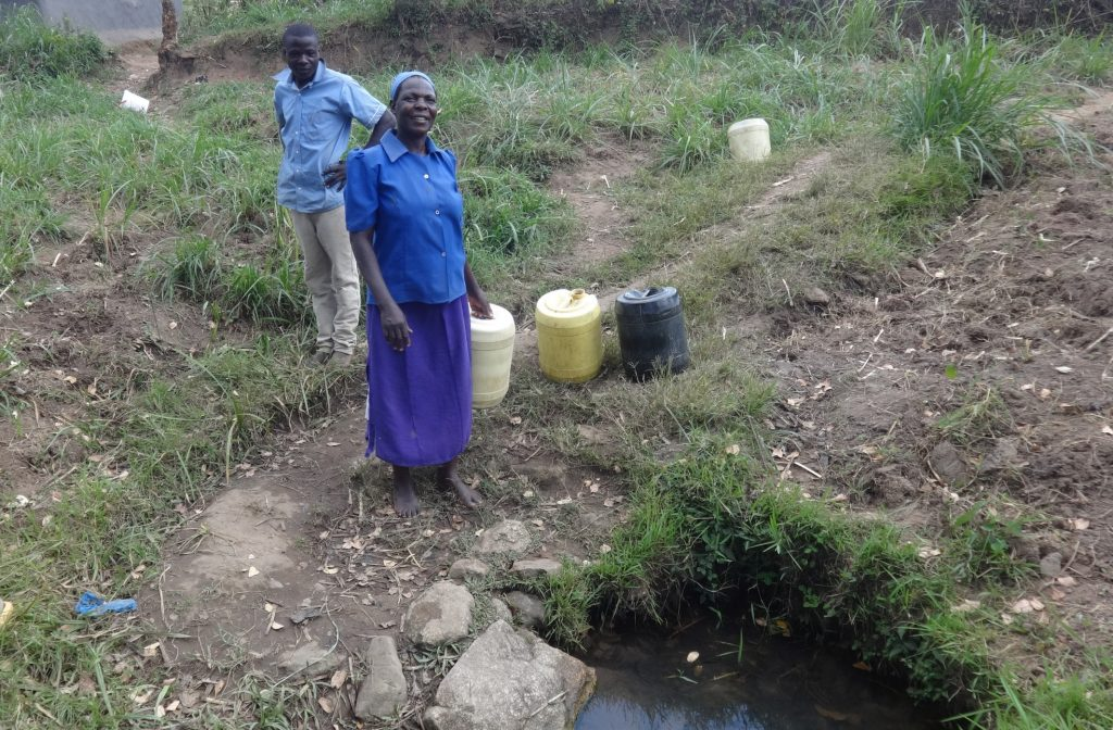 The Water Project : 3-kenya18110-fetching-water