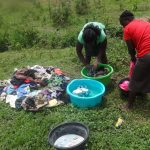The Water Project: Masera Community -  Women Doing Laundry By The Spring