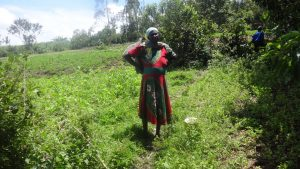 The Water Project:  Woman Working On Her Farm