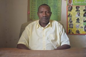 The Water Project:  Headteacher Titus Mutinda