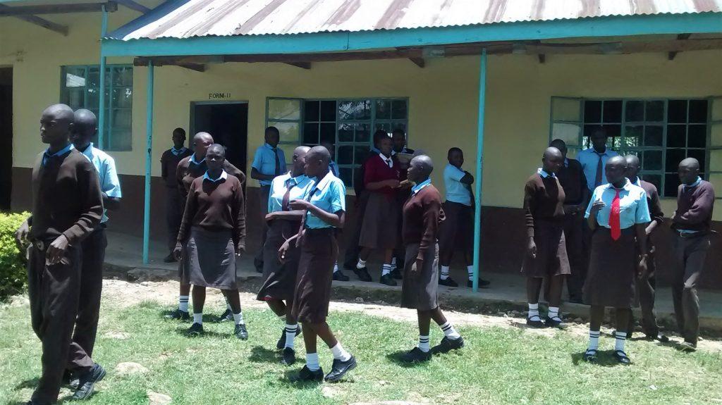 The Water Project : 4-kenya18022-school-grounds