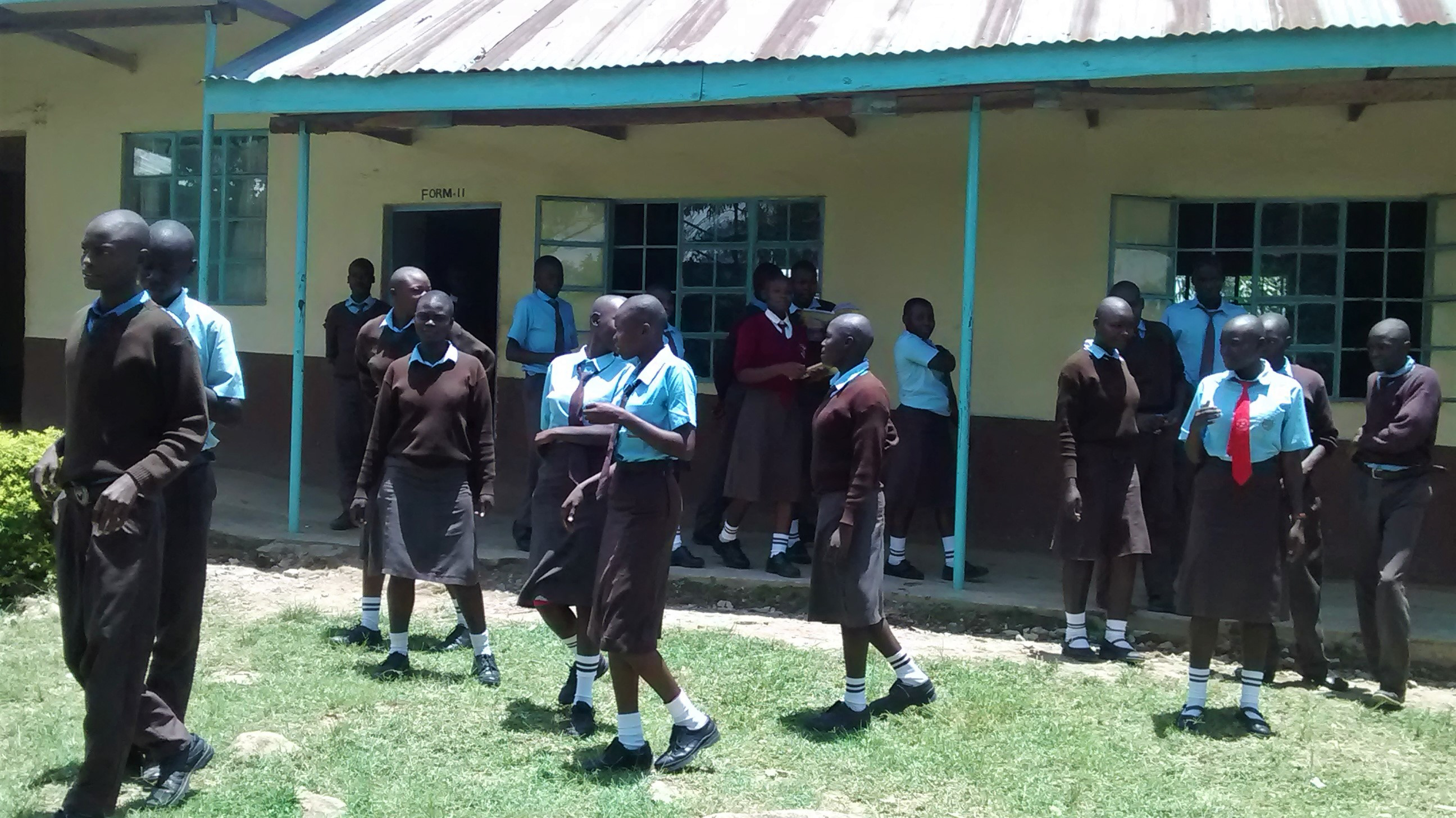 The Water Project : 4-kenya18022-school-grounds