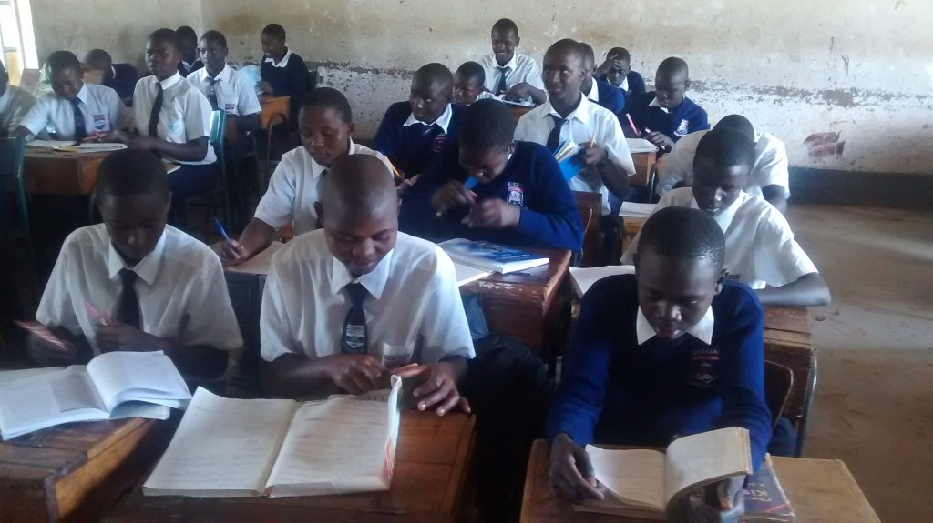 The Water Project : 4-kenya18045-students-in-class
