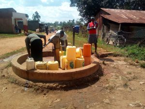 The Water Project:  Busy Community Borehole