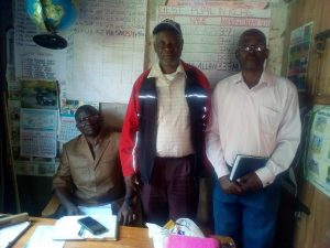 The Water Project:  Headteacher And Senior Teachers