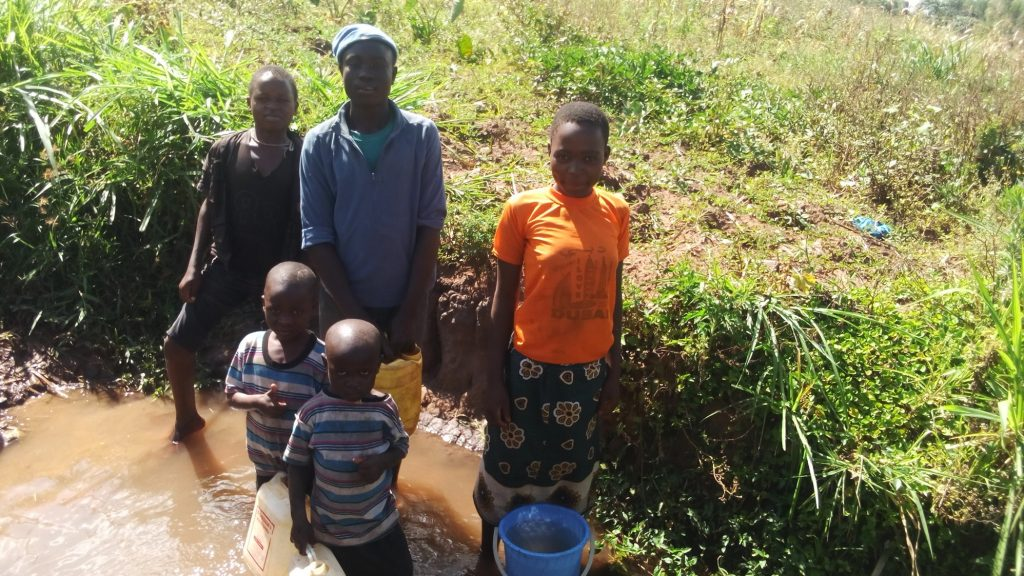 The Water Project : 4-kenya18116-fetching-water