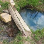 The Water Project: Chebwayi B Community, Wambutsi Spring -  Current Water Source