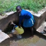 The Water Project: Rabuor Primary School -  Fetching Water