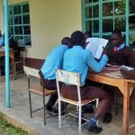 The Water Project: Lihanda Secondary School -  Students Studying