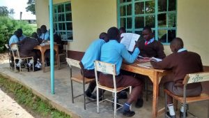 The Water Project:  Students Studying