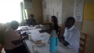 The Water Project:  Meeting With Administration