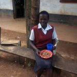 The Water Project: Essong'olo Secondary School -  Students Enjoying Lunch