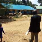 The Water Project: Makuchi Primary School -  Headteacher Giving Us A Tour