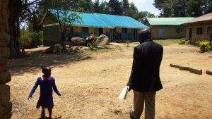 The Water Project:  Headteacher Giving Us A Tour