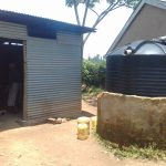 The Water Project: Kamuluguywa Secondary School -  Plastic Tank