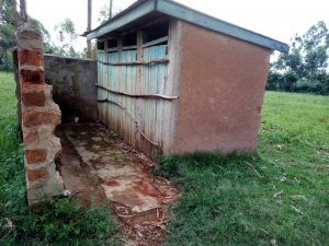 The Water Project:  Latrines Shut Down Because Of Full Pits