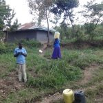 The Water Project: Ingavira Community, Laban Mwanzo Spring -  Environment Around He Spring