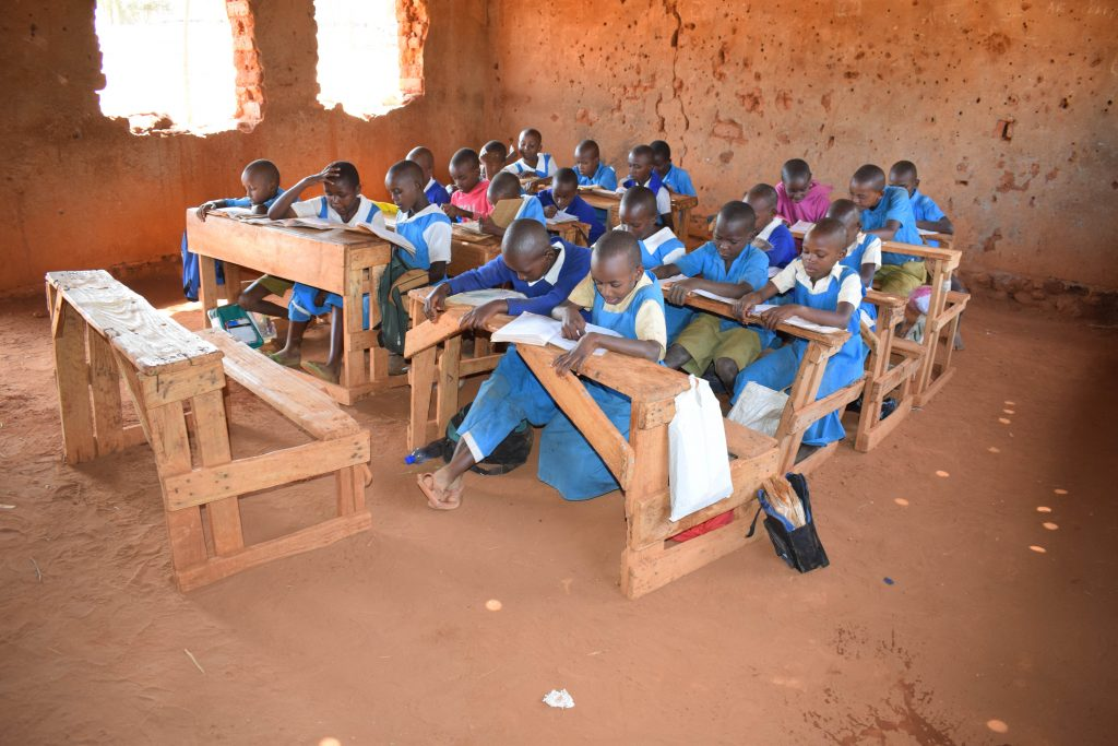 The Water Project : 5-kenya18235-students-in-class