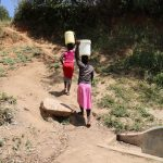 The Water Project: Elukho Community A -  Rosa Spring