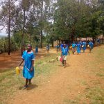 The Water Project: Eshiamboko Primary School -  Students With Their Containers