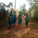 The Water Project: Lugango Primary School -  Going To Fetch Water