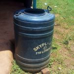 The Water Project: Eshilibo Primary School -  A Plastic Barrel For Water