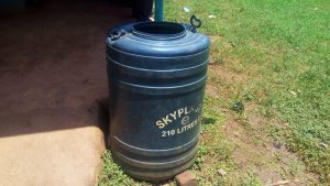 The Water Project:  A Plastic Barrel For Water