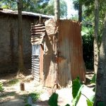 The Water Project: Muyundi Community, Baraza Spring -  Latrine
