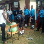 The Water Project: Mutsuma Secondary School -  Hand Washing Training