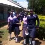 The Water Project: St. Stephen Maraba Secondary School -  Going To Get Lunch