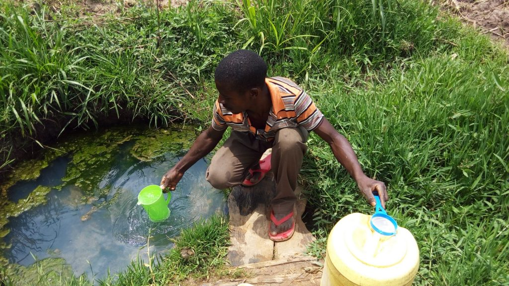 The Water Project : 7-kenya18120-fetching-water
